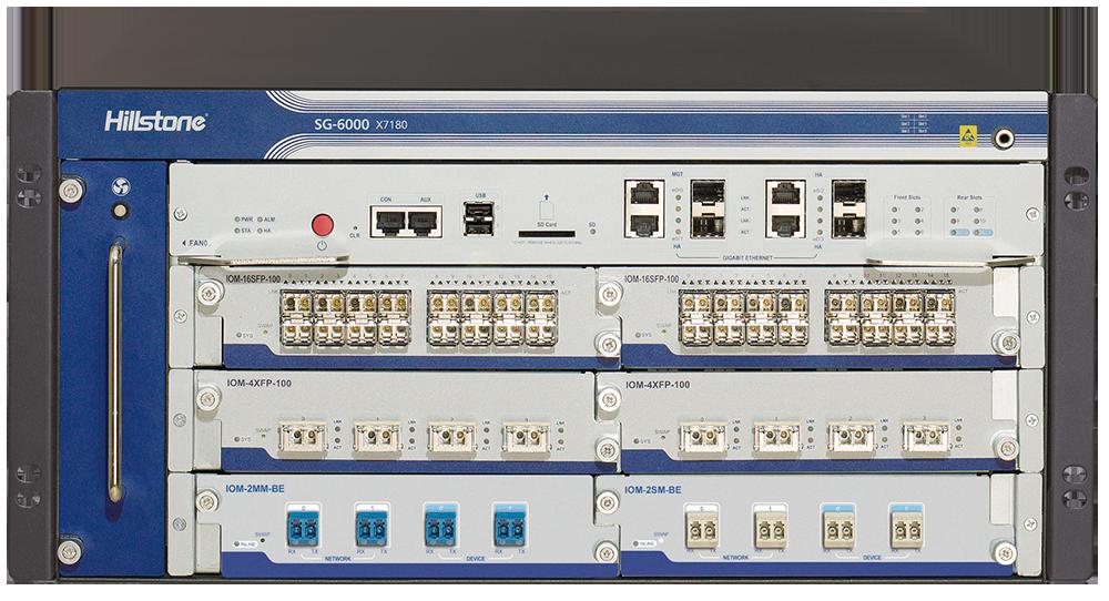 High Performance data center firewalls